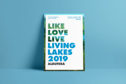 Ray Díaz Estudio. RayStudio. Design and illustration. Madrid. Valencia. Barcelona. Environment. Sustainability Sustainable design. Green things. graphic design ray diaz. Living Lakes 2019