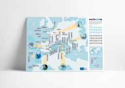 curioseaty map icons Ray Díaz Estudio. RayStudio. Design and illustration. Madrid. Valencia. Barcelona. Environment. Sustainability Sustainable design. Green things. graphic design ray diaz